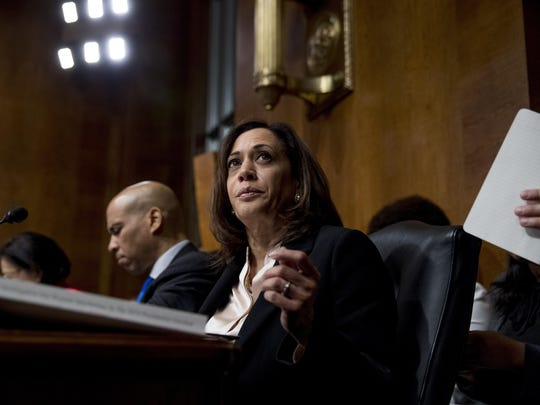 Cory Booker,Kamala Harris