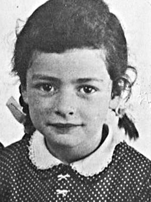 Sabine van Dam in her childhood years