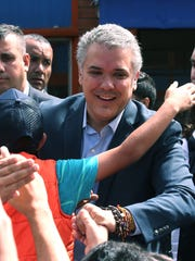 President Ivan Duque decreed that Colombia would give Colombian citizenship to children and babies born in the country to Venezuelan parents over the next two years.