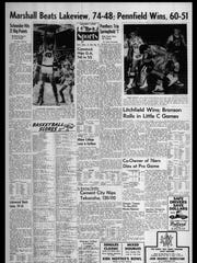 BC Sports History: Week of Dec. 3, 1965