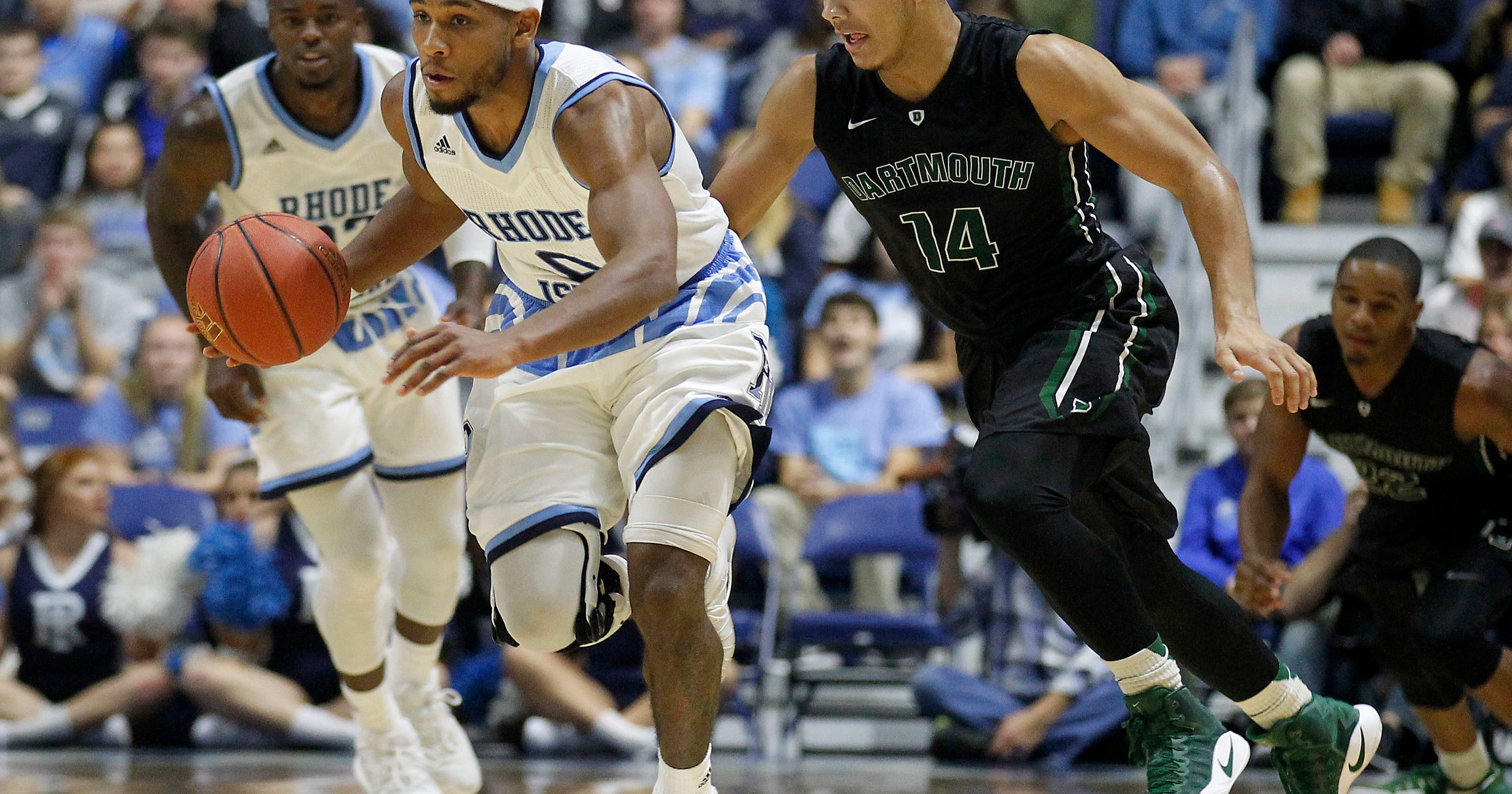 a2d7213bcec Matthews helps No. 23 Rhode Island beat Dartmouth 84-60
