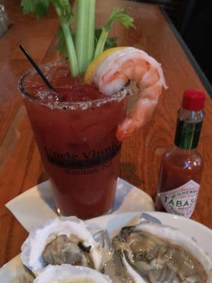 Uncle Vinnie's shrimp cocktail mocktail.