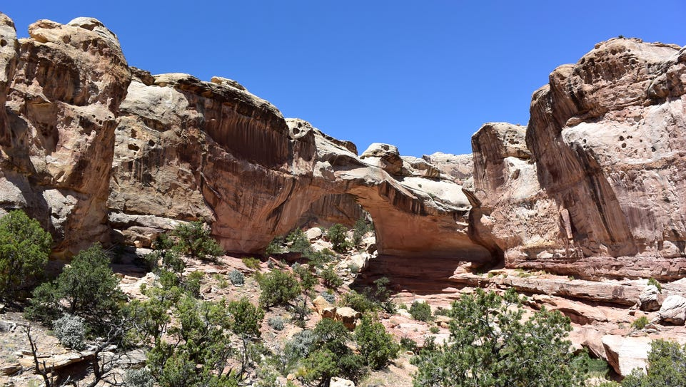 Nature's beauty found in Capitol Reef National Park_credit
