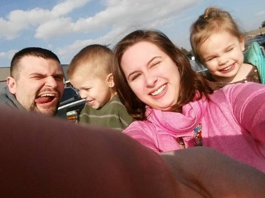 Homicide victim Samantha Stein and her family.