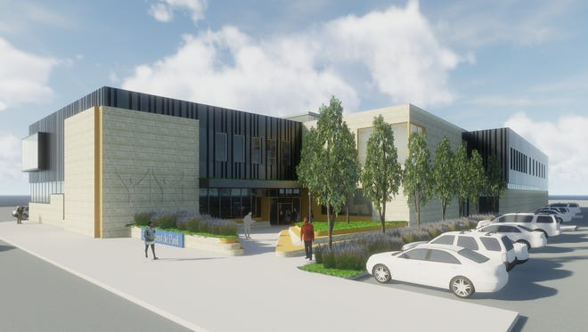 Rendering of the new St. Vincent de Paul West End outreach center