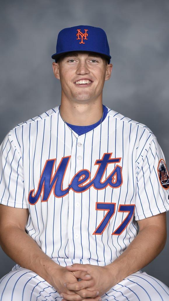 Binghamton Mets outfielder Brandon Nimmo