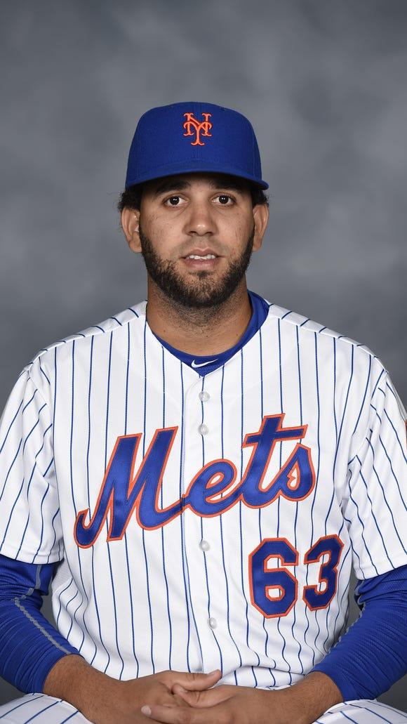 Binghamton Mets pitcher Gabriel Ynoa.
