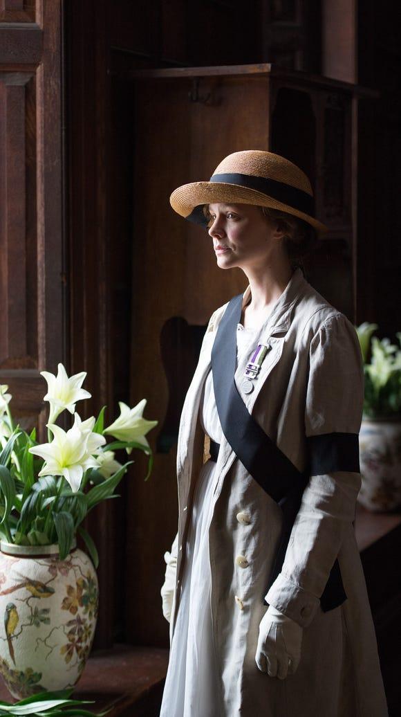 Carey Mulligan stars as Maud Watts in 'Suffragette.'