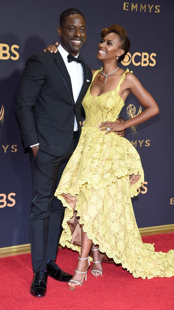 Sterling K. Brown and his wife Ryan Michelle Bathe