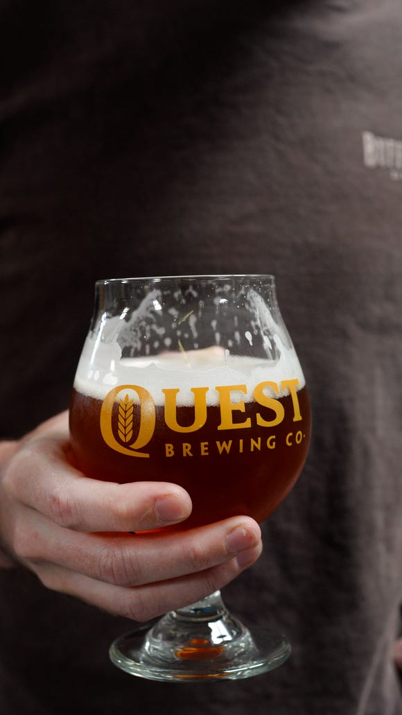 Quest Brewing of Greenville will begin selling its beers in Asheville this week.
