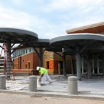 The new Sherwood Elementary will be finished in time for the first day of school. The building was designed with plenty of collaborative spaces and with the potential to generate as much energy as it uses.