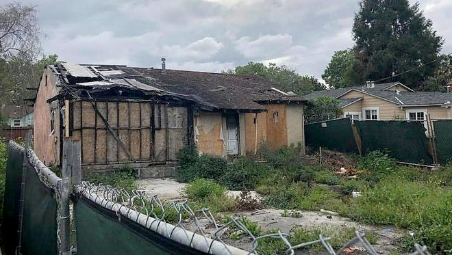 A house that suffered major fire damage two years ago is on the market for $800,000 in San Jose, Calif.