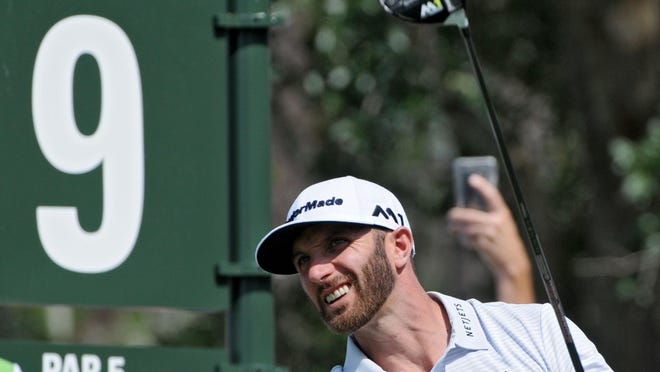Dustin Johnson won four tournaments during the 2020 calendar year, including the Masters and the Tour Championship.