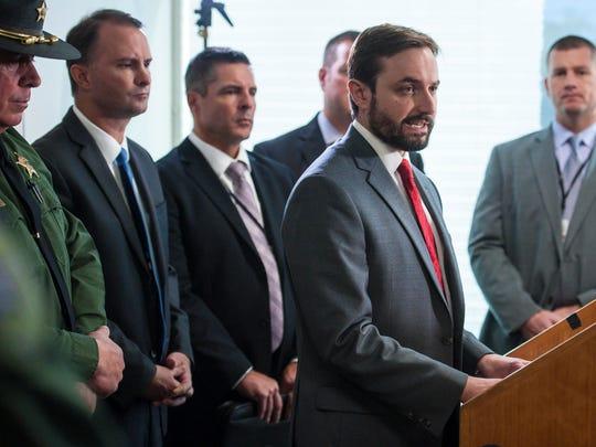 Deputy Chittenden County State's Attorney Bram Kranichfeld