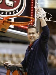 Belmont coach Cameron Newbauer has led the Bruins to