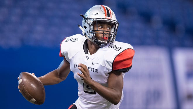Cardinal Ritter's Diomoni Small was named the All-City Athlete of the Year.