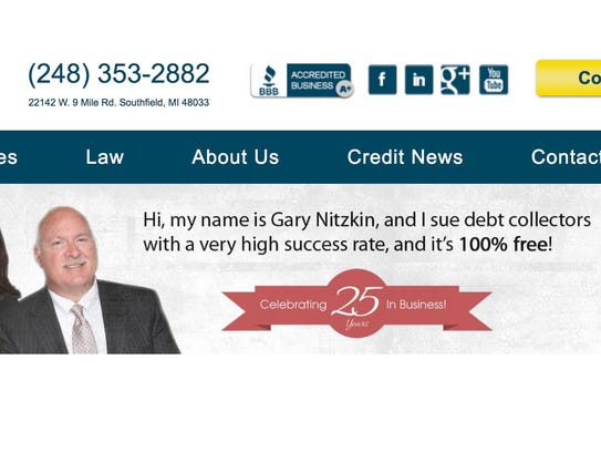 Attorney Gary Nitzkin insists his law firm  doesn't