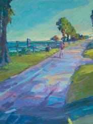 Rockport artistBarb Robinson has been selected as