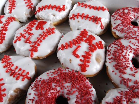 Maple Donuts is making doughnuts that look like baseballs