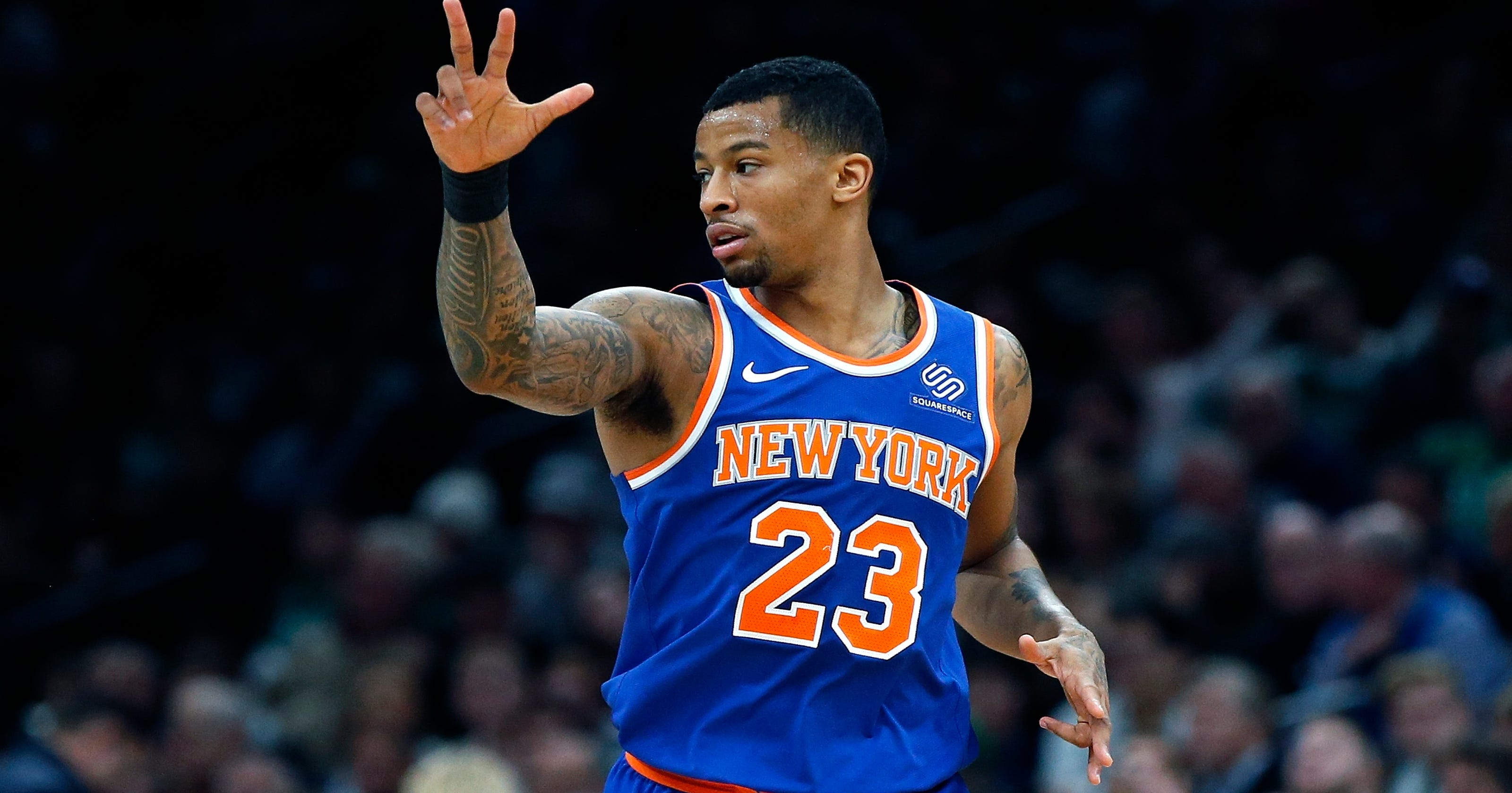 new product 5acd8 0f57c New York Knicks: Trey Burke optimistic for quick recovery ...