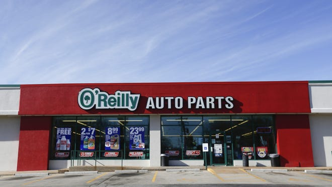 As of the end of December, Springfield-based O'Reilly Automotive had 4,829 O'Reilly Auto Parts stores in 47 states.