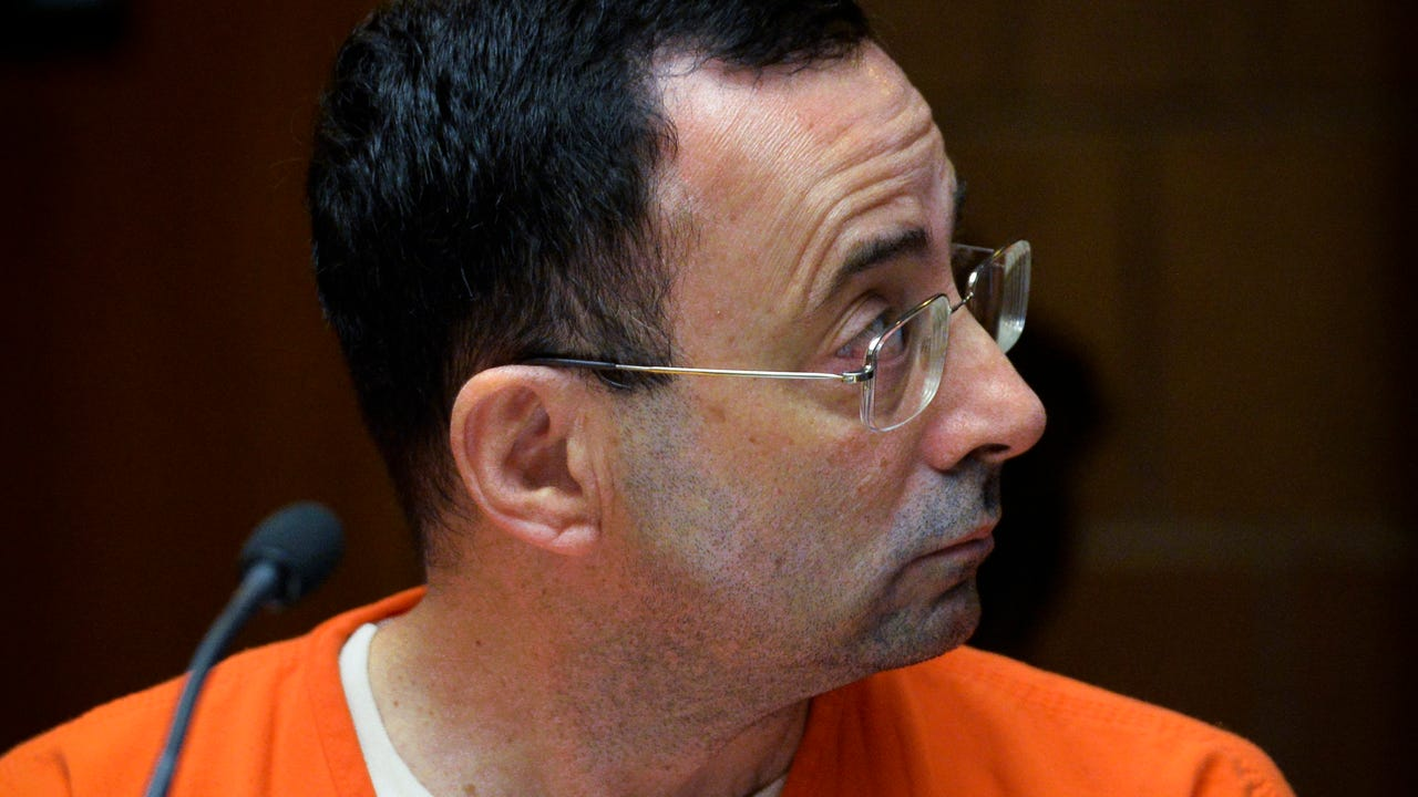 A taped interview between Dr. Larry Nassar and MSU Sgt. Andrea Mumford