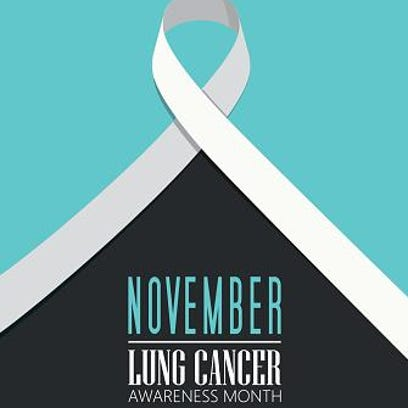 November is Lung Cancer Awareness Month.