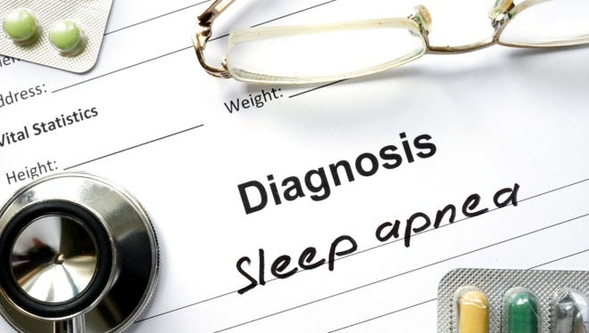 Diagnosis  Sleep apnea
