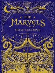 "Cover of the Brian Selznick's new book, ""The Marvels,"" set for release in September."