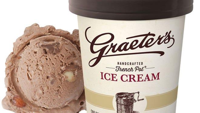 Graeter's Chocolate coconut almond chocolate chip ice cream.