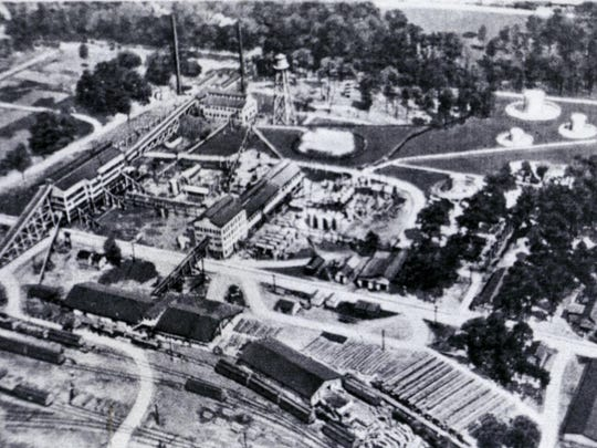 Before building a Hattiesburg plant in the 1920s, California