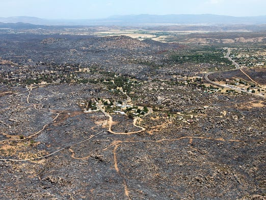 Yarnell Hill Fire Lawsuits Settle For 670 000 Reforms