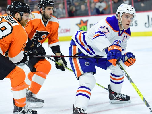 Connor McDavid calls out Flyers  Brandon Manning after Oilers  loss 9d8d0133a
