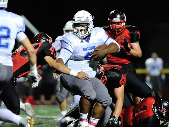 Wallington RB Elijah Mitchell and the No. 2 Panthers will play No. 6 Pompton Lakes in the North 1, Group 1 semifinals.