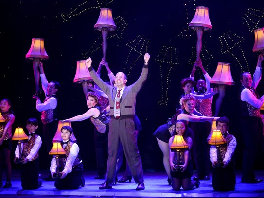 """A Christmas Story, the Musical"" begins a seven-show"
