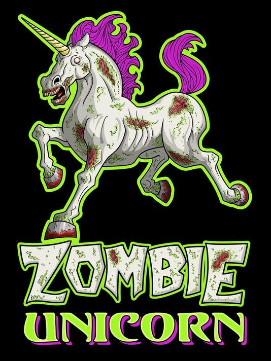 zombie unicorn by matt ebisch