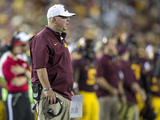 NCAA Football: Texas Christian at Minnesota
