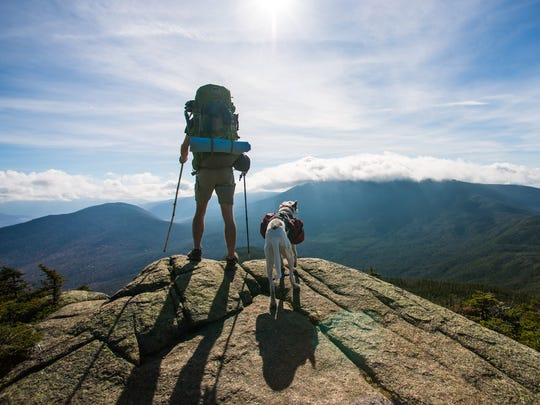 """Chris Gallaway, of Black Mountain, has just released his documentary, """"The Long Start to the Journey,"""" about his seven-month thru-hike of the Appalachian Trail."""