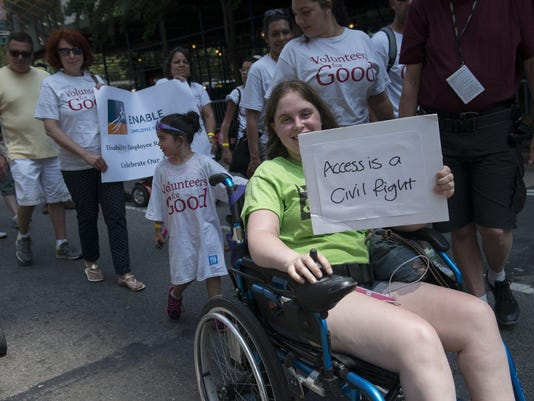 New York City Hosts First Annual Disability Pride Parade