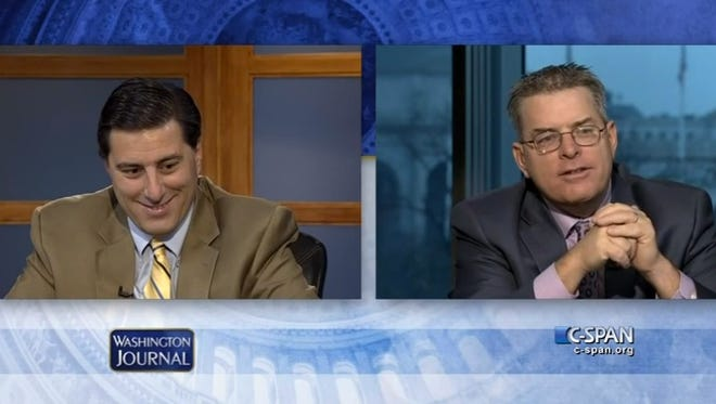 The Woodhouse brothers appear on C-SPAN.