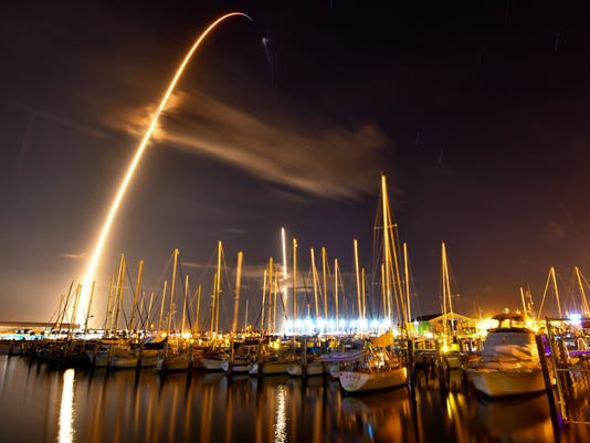 SpaceX launch and landing