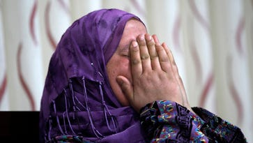 The mother of Palestinian Abu Khdeir, 16.