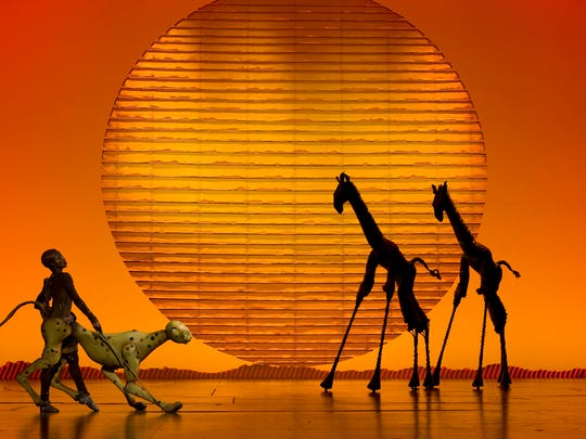"""Circle of Life"" from ""The Lion King."""
