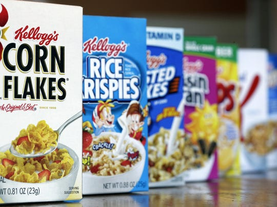 The Netherlands-based consumer group Changing Markets says Kellogg Co. has reduced vitamins and micronutrients in some of the most popular breakfast cereals in Mexico.