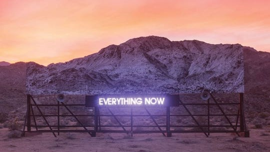 """Everything Now"" by Arcade Fire."