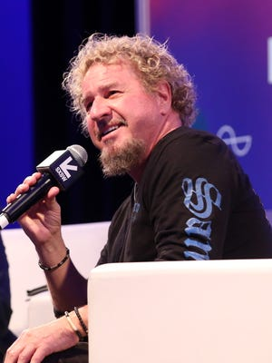 Musician Sammy Hagar speaks onstage at 'A Conversation With Sammy Hagar' during 2017 SXSW Conference and Festivals at Austin Convention Center on March 16, 2017 in Austin, Texas.