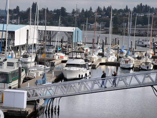 A $1.5 million restoration of the Port Orchard Marina is on hold until the Legislature approves a capital budget.