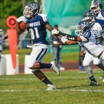 Jackson State wide receiver Daniel Williams (81) leads a deep receiving core.