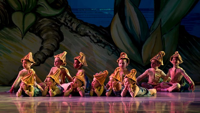 Local girls Alexandria Days and Samantha Everett will appear in the Nashville Ballet production of 'Peter Pan' this weekend.