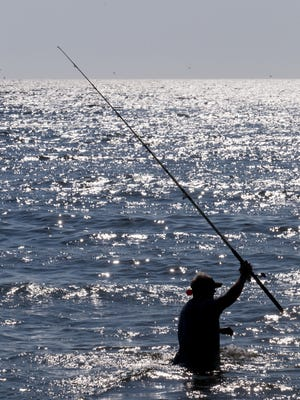 The Town of Ocean City recently passed an ordinance that disallows surf fishers to use any type of vehicle or machine to put bait in the water. Fishers must manually cast their line.